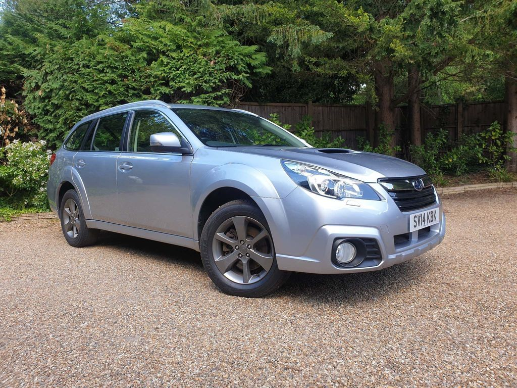 SUBARU OUTBACK Estate 2.0 D SX Lineartronic AWD 5dr