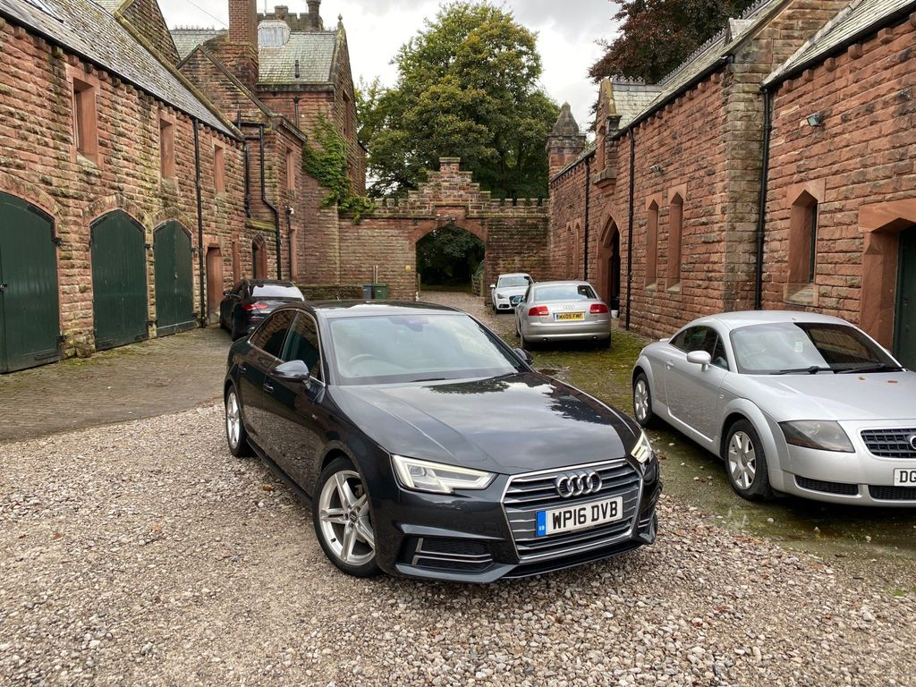 Audi A4 Saloon 2.0 TDI S line S Tronic (s/s) 4dr