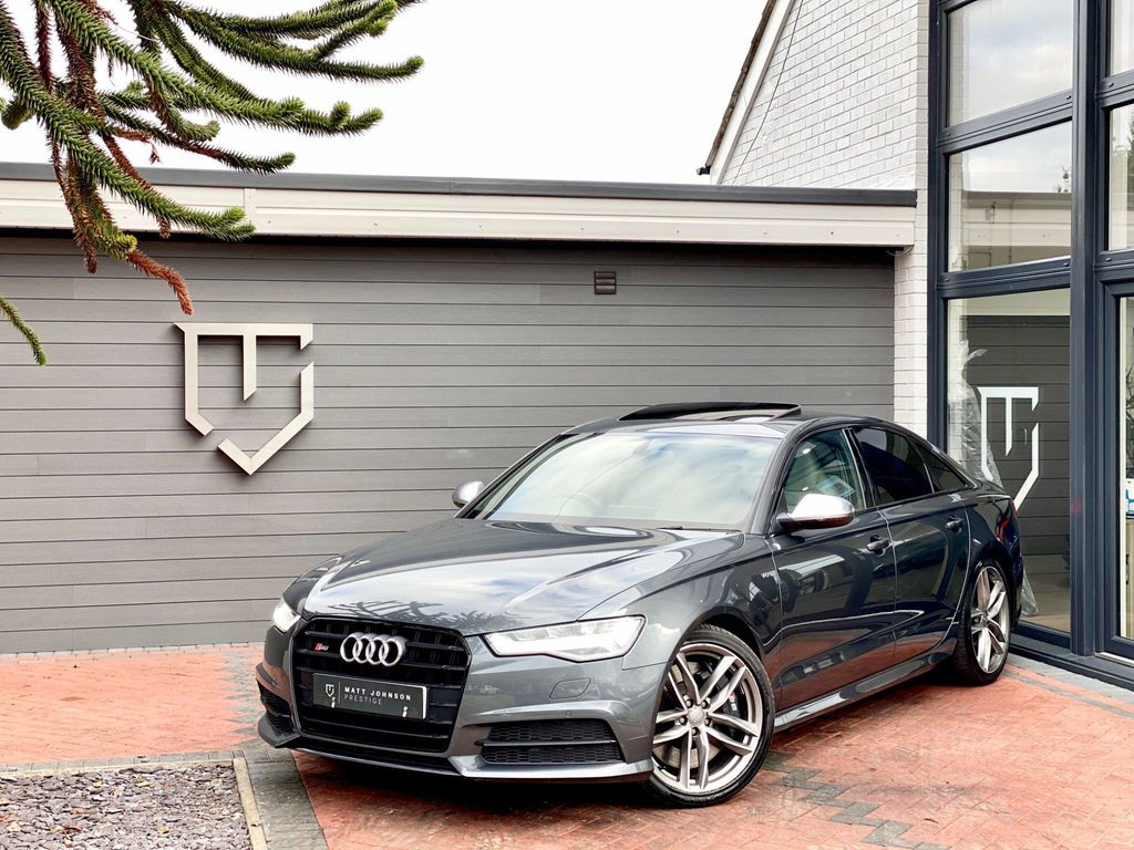 Audi S6 Saloon Saloon 4.0 TFSI V8 Black Edition S Tronic quattro (s/s) 4dr