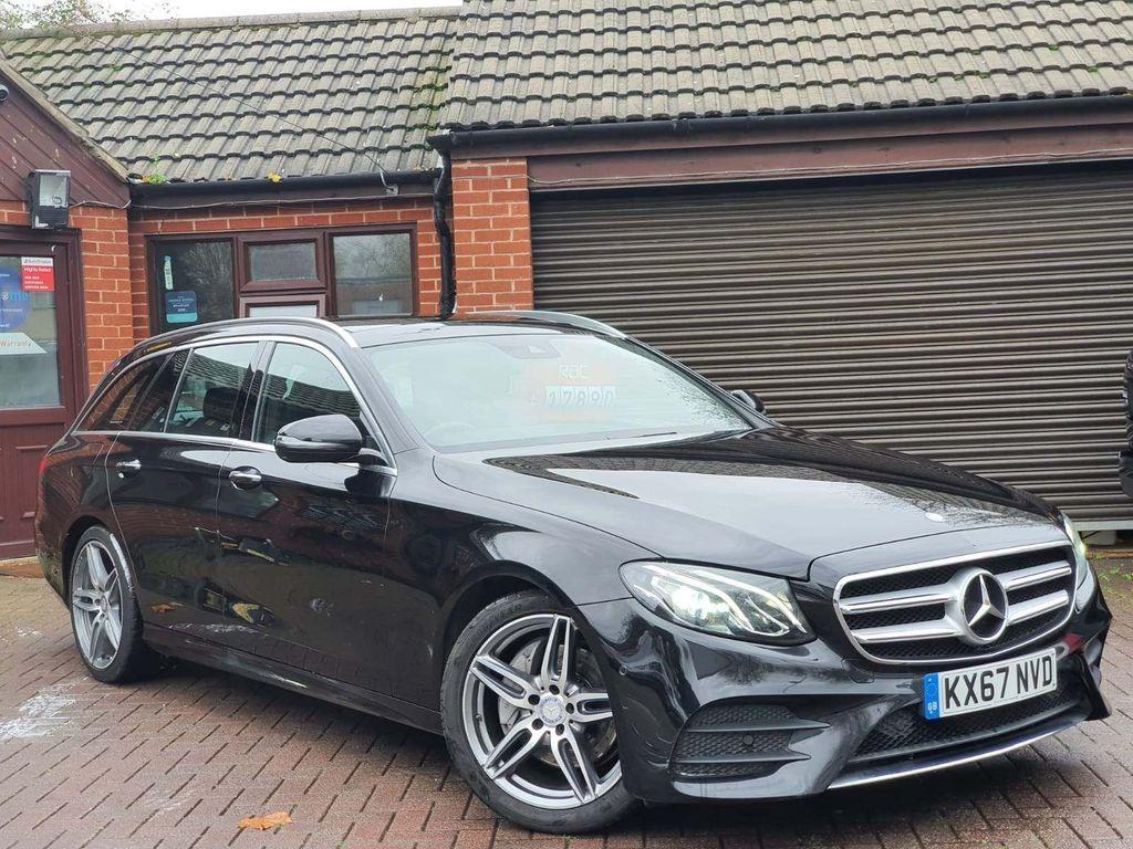 Mercedes-Benz E Class Estate 2.0 E220d AMG Line (Premium) G-Tronic+ (s/s) 5dr