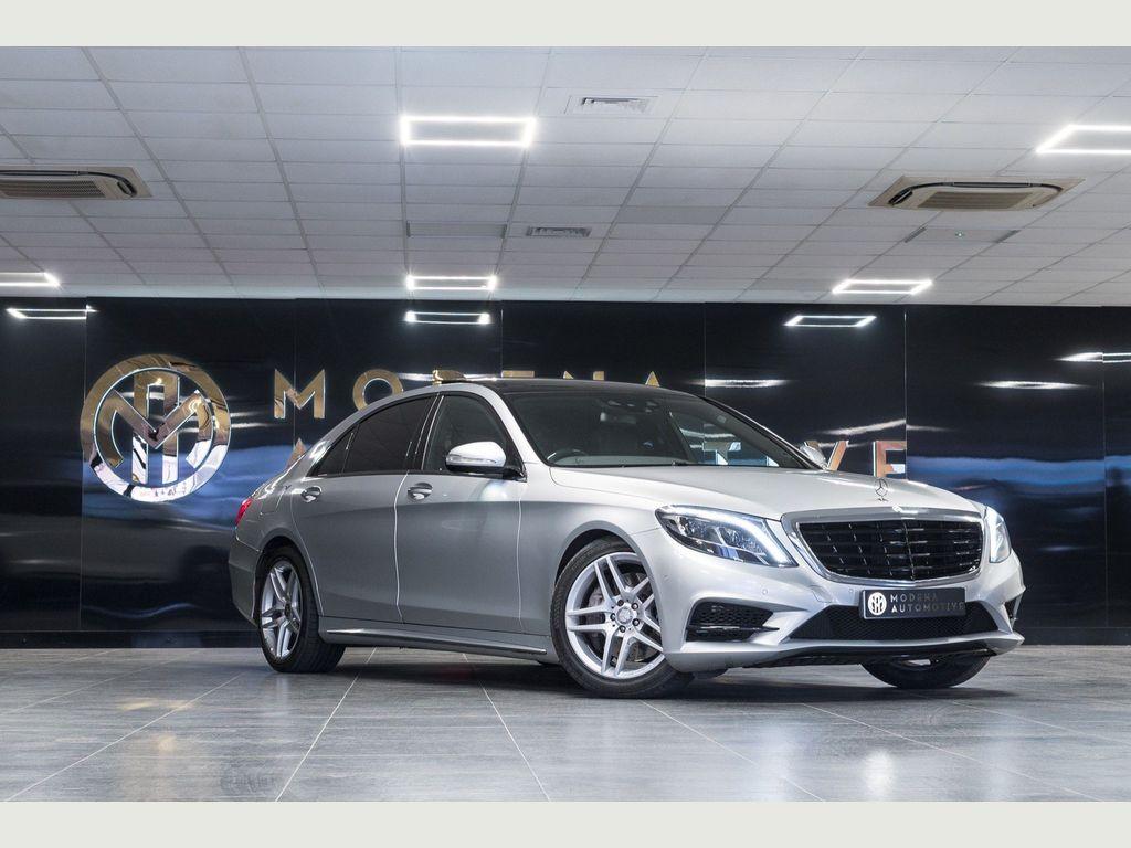 Mercedes-Benz S Class Saloon 3.5 S400L h AMG Line (Executive) 7G-Tronic Plus (s/s) 4dr