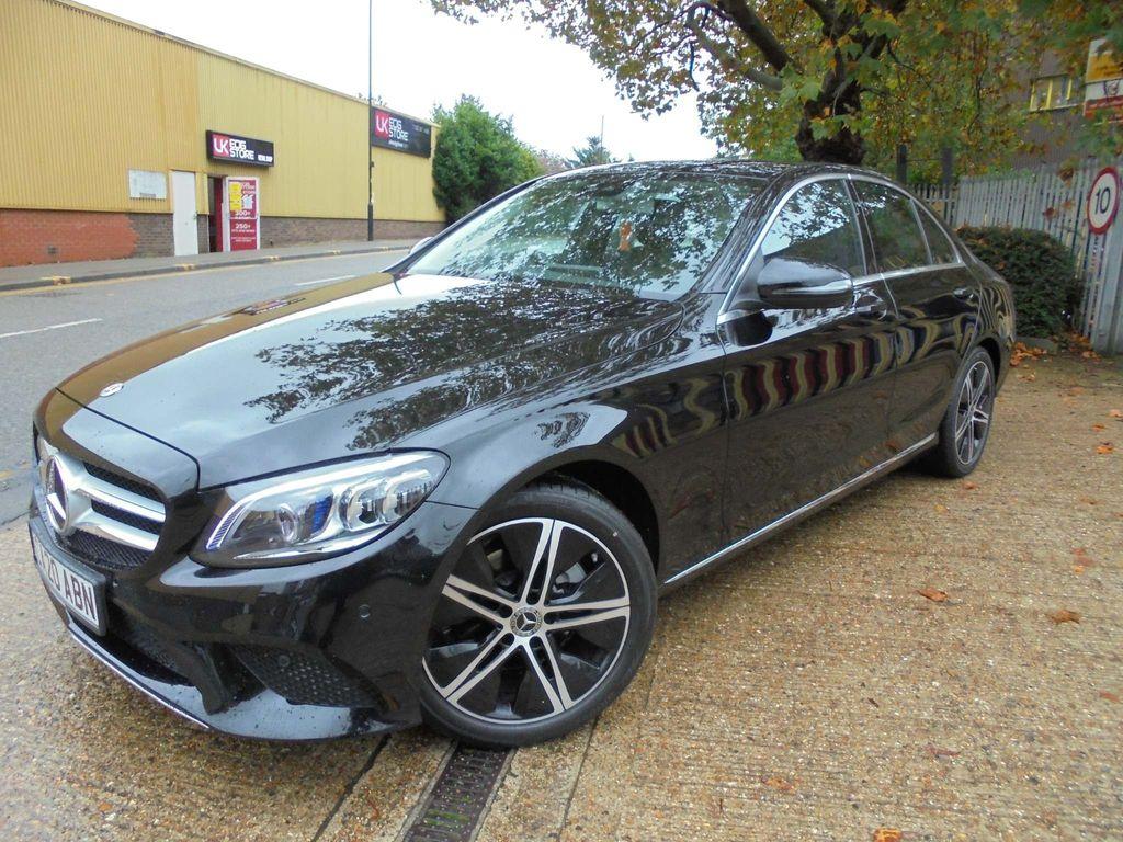 Mercedes-Benz C Class Saloon 1.5 C200 EQ Boost Sport G-Tronic+ (s/s) 4dr
