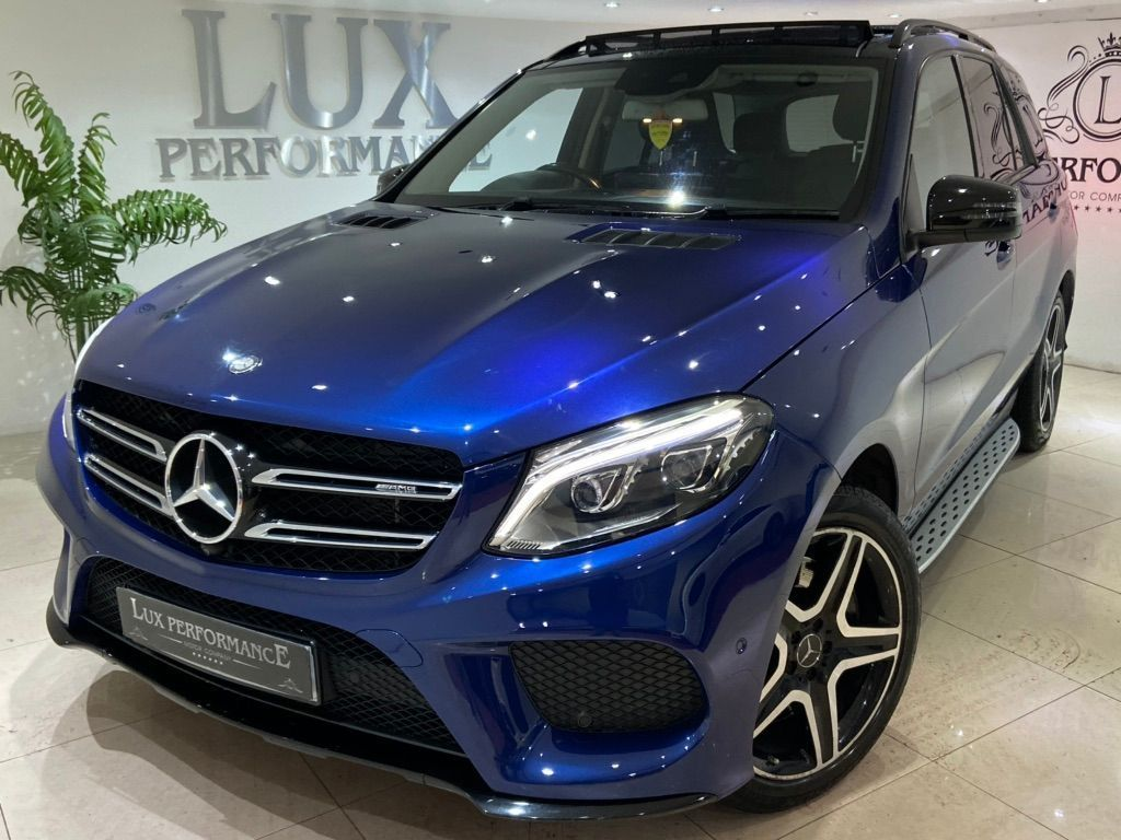 Mercedes-Benz GLE Class SUV 3.0 GLE43 V6 AMG (Premium) G-Tronic 4MATIC (s/s) 5dr