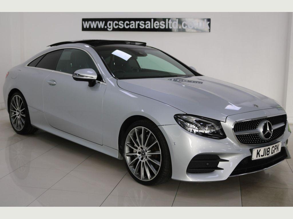 Mercedes-Benz E Class Coupe 3.0 E350d V6 AMG Line (Premium Plus) G-Tronic+ 4MATIC (s/s) 2dr
