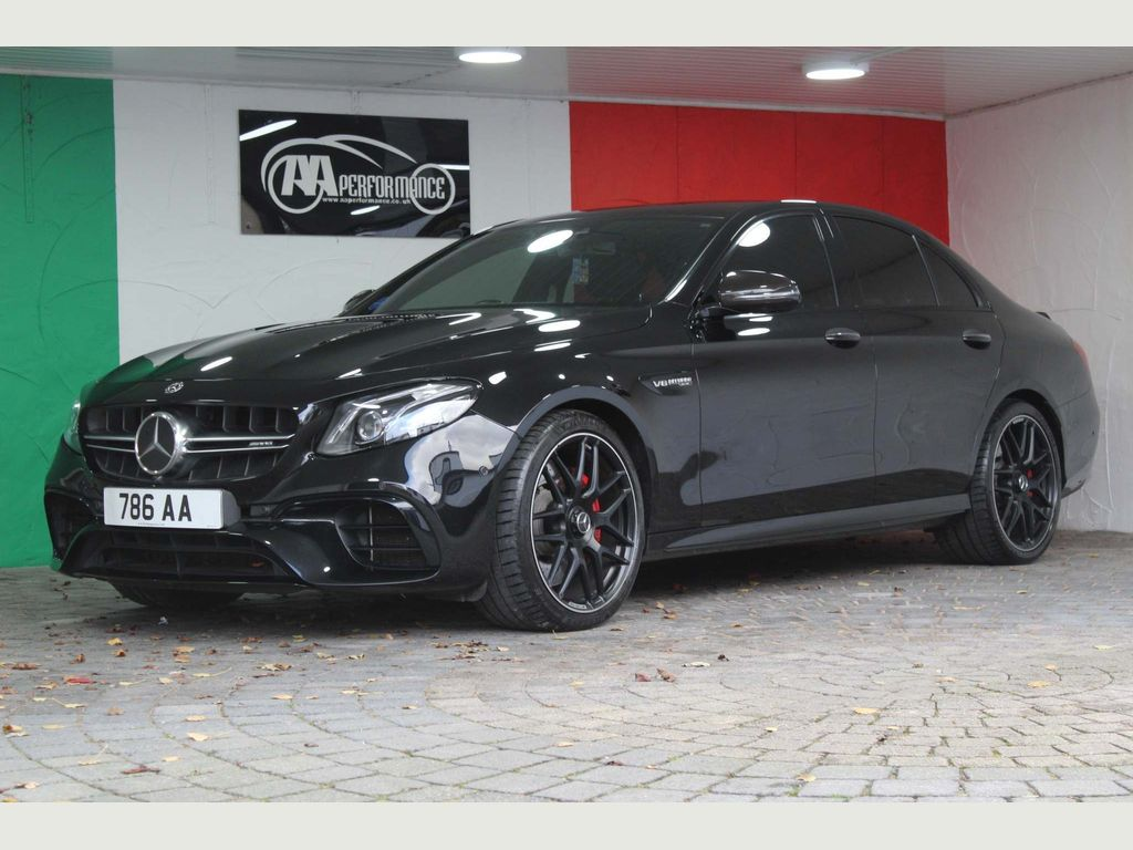 Mercedes-Benz E Class Saloon 4.0 E63 BiTurbo V8 AMG S SpdS MCT 4MATIC+ (s/s) 4dr