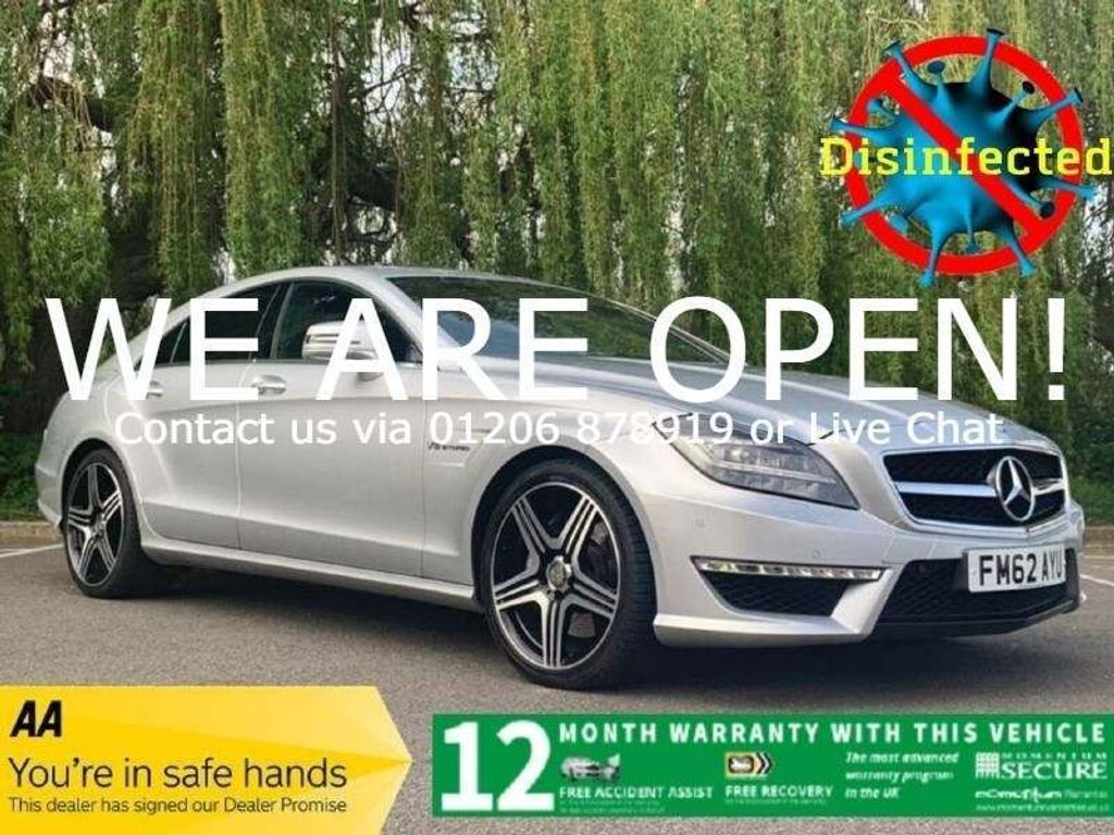 Mercedes-Benz CLS Coupe 5.5 CLS63 BlueEFFICIENCY AMG 7G-Tronic Plus (s/s) 4dr