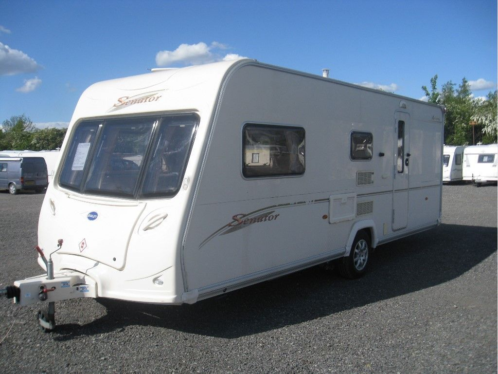 Bailey Senator Arizona Tourer 2007 4 BERTH WITH MOTORMOVER