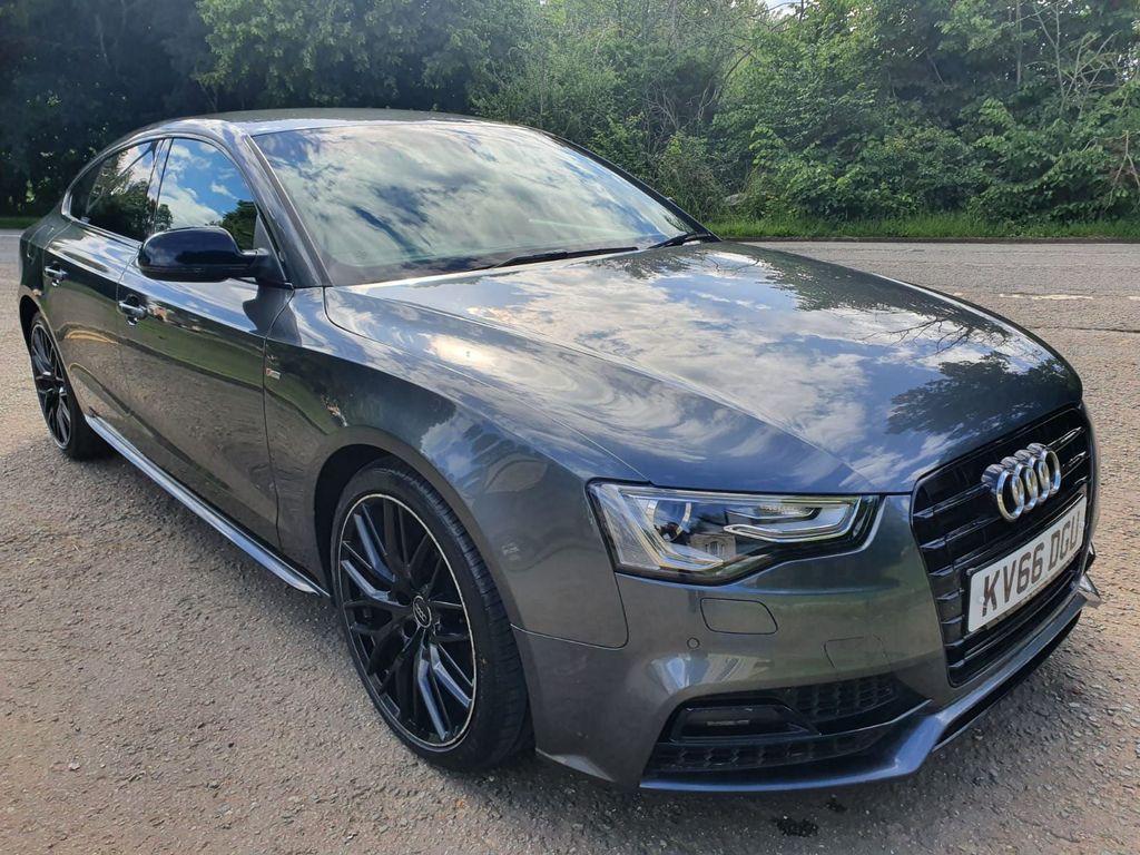 Audi A5 Hatchback 2.0 TDI Black Edition Plus Sportback Multitronic (s/s) 5dr