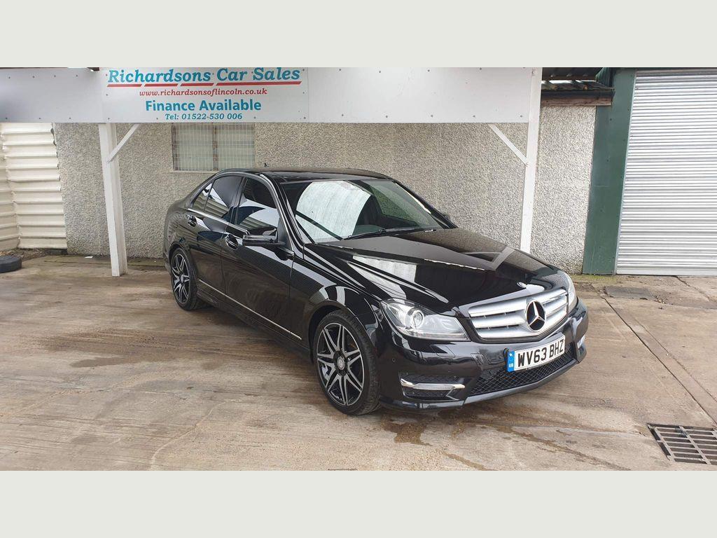 Mercedes-Benz C Class Saloon 3.0 C350 CDI AMG Sport Plus 7G-Tronic Plus 4dr