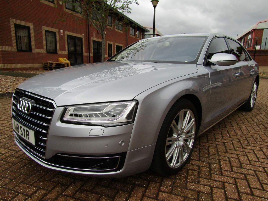 Audi A8 Saloon L 4.0 TFSi QUATTRO LWB AUTO 4 DR SALOON