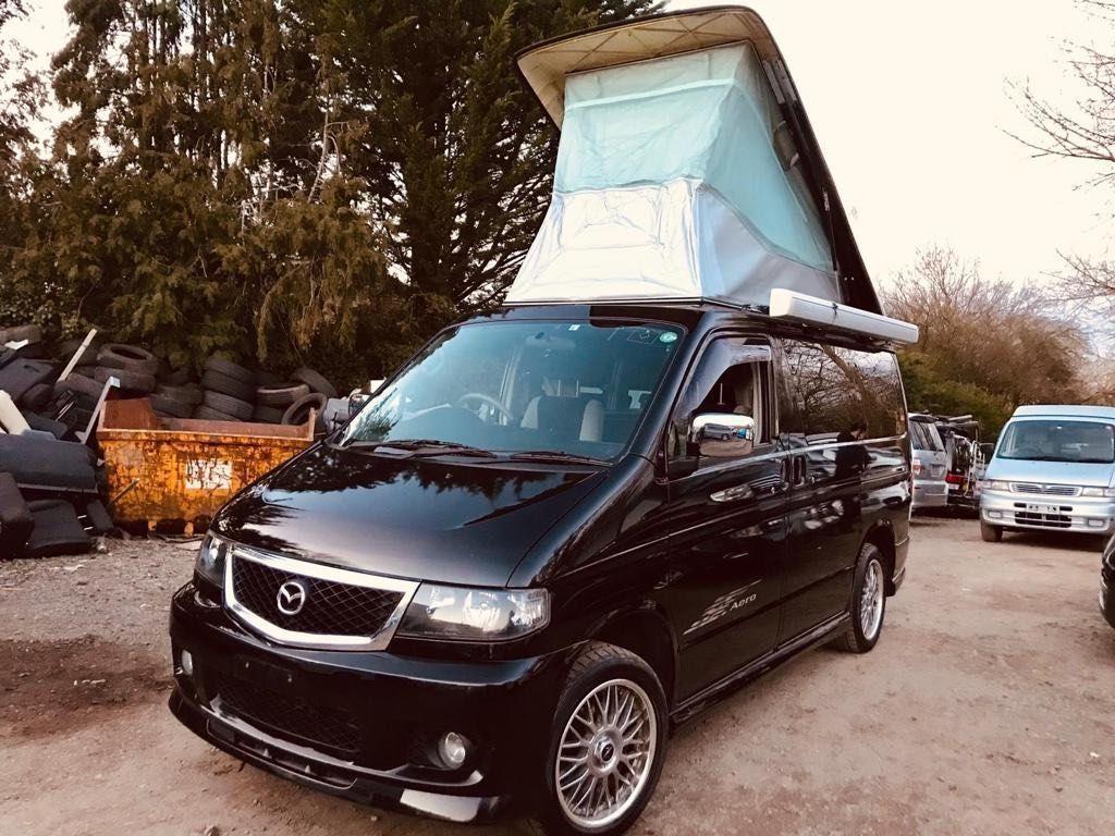 Mazda BONGO AFT 4 BERTH NEW SIDE CAMPER CONVERSION Campervan RUST FREE FRESH IMPORT 58K