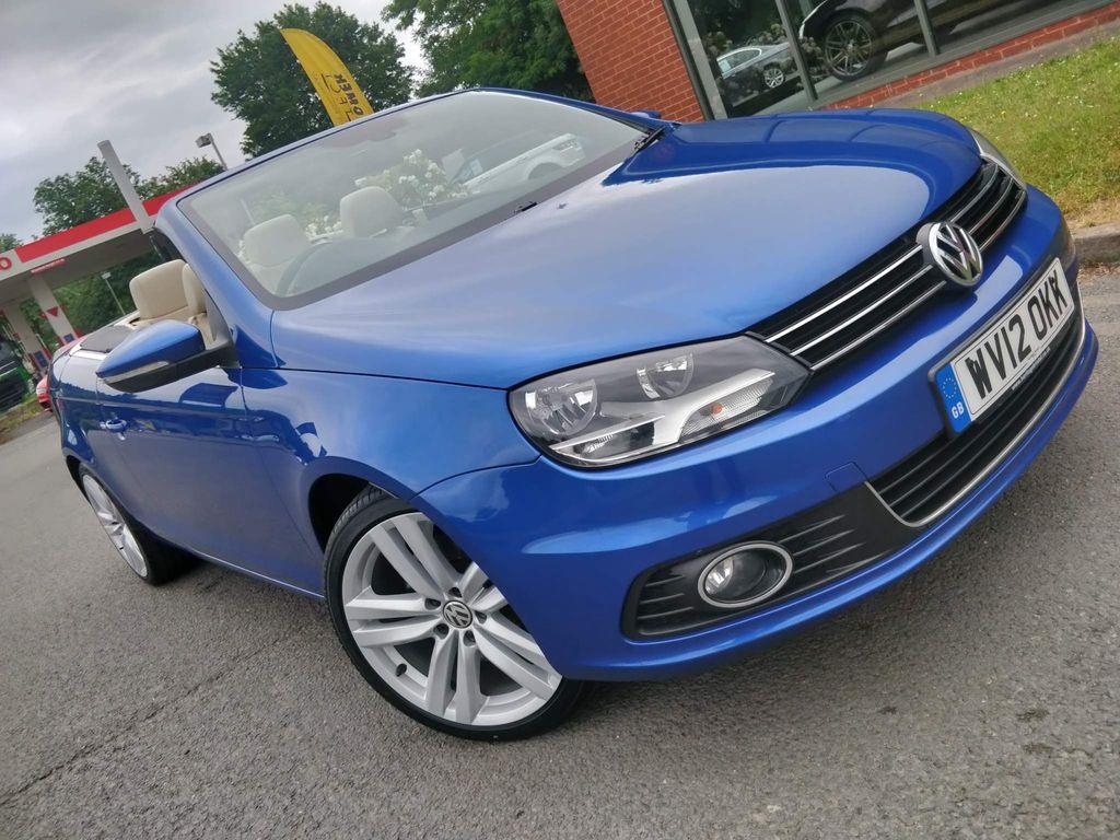 Volkswagen Eos Convertible 2.0 TDI BlueMotion Tech Sport Cabriolet 2dr