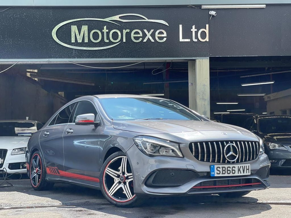 Mercedes-Benz CLA Class Coupe 2.0 CLA250 AMG (s/s) 4dr
