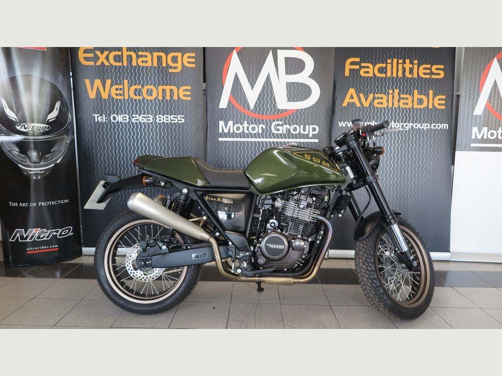 SWM Motorcycles Gran Milano Naked 440 440