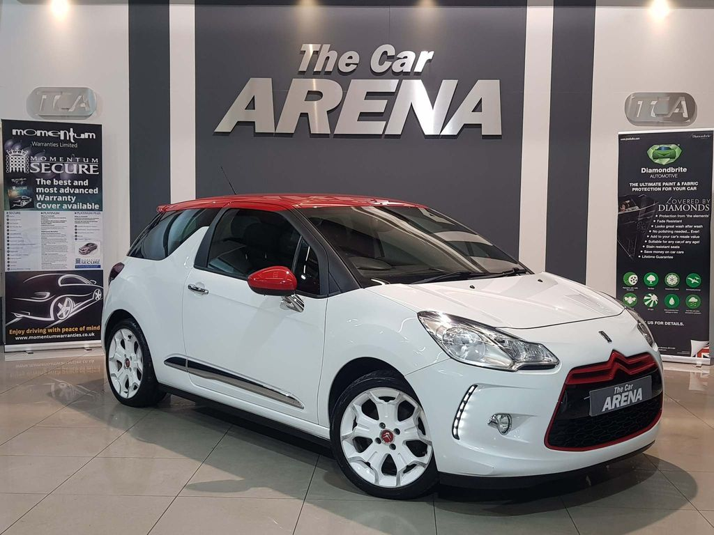 Citroen DS3 Hatchback 1.6 THP DSport Red 3dr
