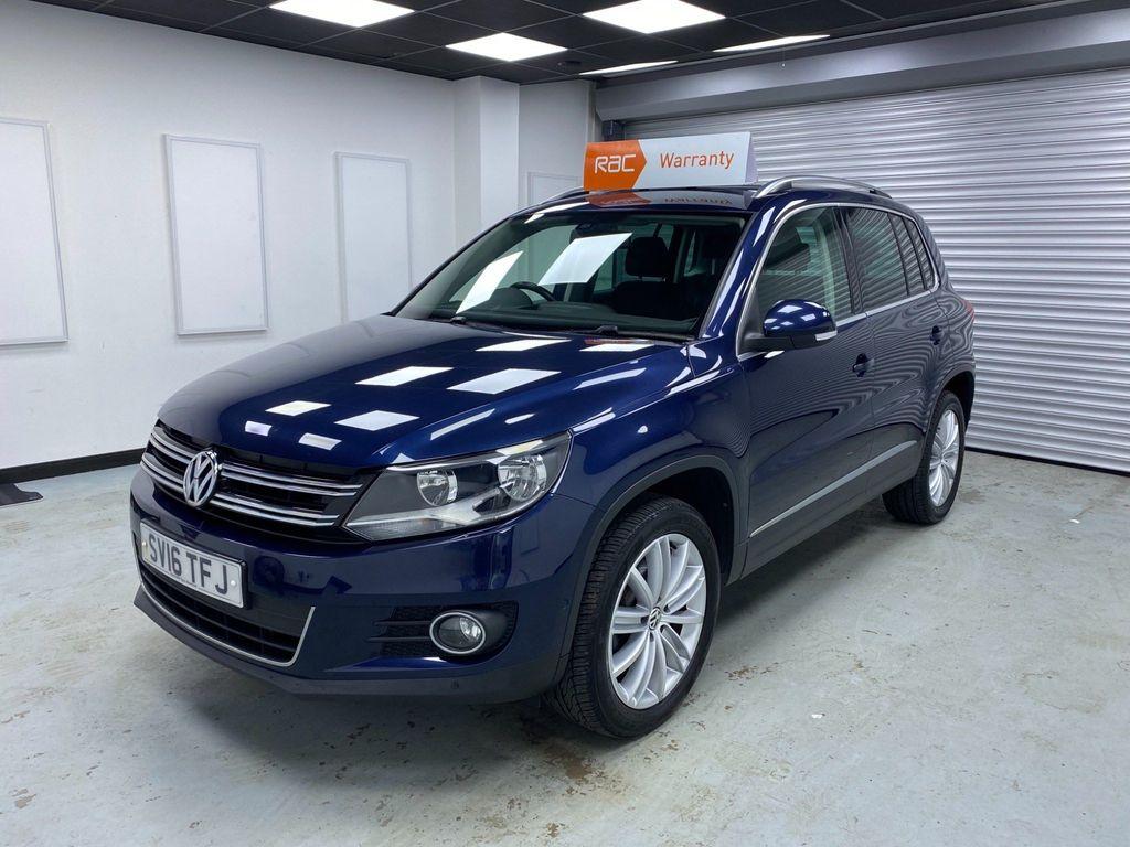 Volkswagen Tiguan SUV 2.0 TDI BlueMotion Tech Match Edition 4WD (s/s) 5dr