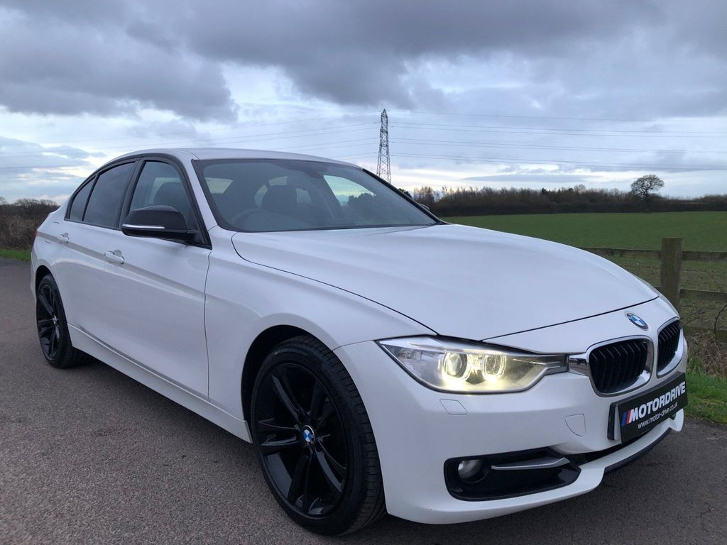 BMW 3 Series Saloon 2.0 318d Sport 4dr