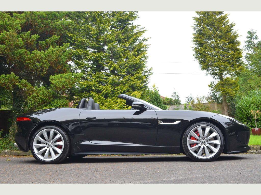 Jaguar F-Type Convertible 5.0 V8 S Quickshift 2dr