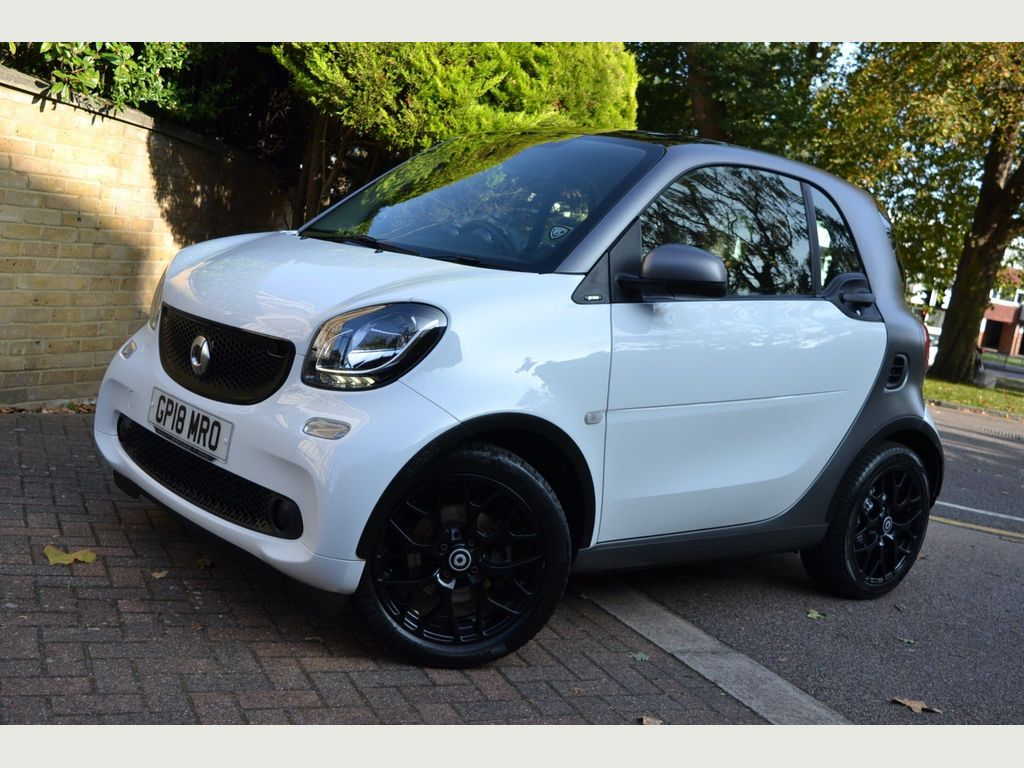 Smart fortwo Coupe 0.9T Prime Sport (Premium) Twinamic (s/s) 2dr