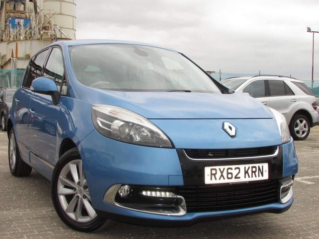 Renault Scenic MPV 1.5 dCi Dynamique TomTom (Luxe pack) EDC Auto 5dr