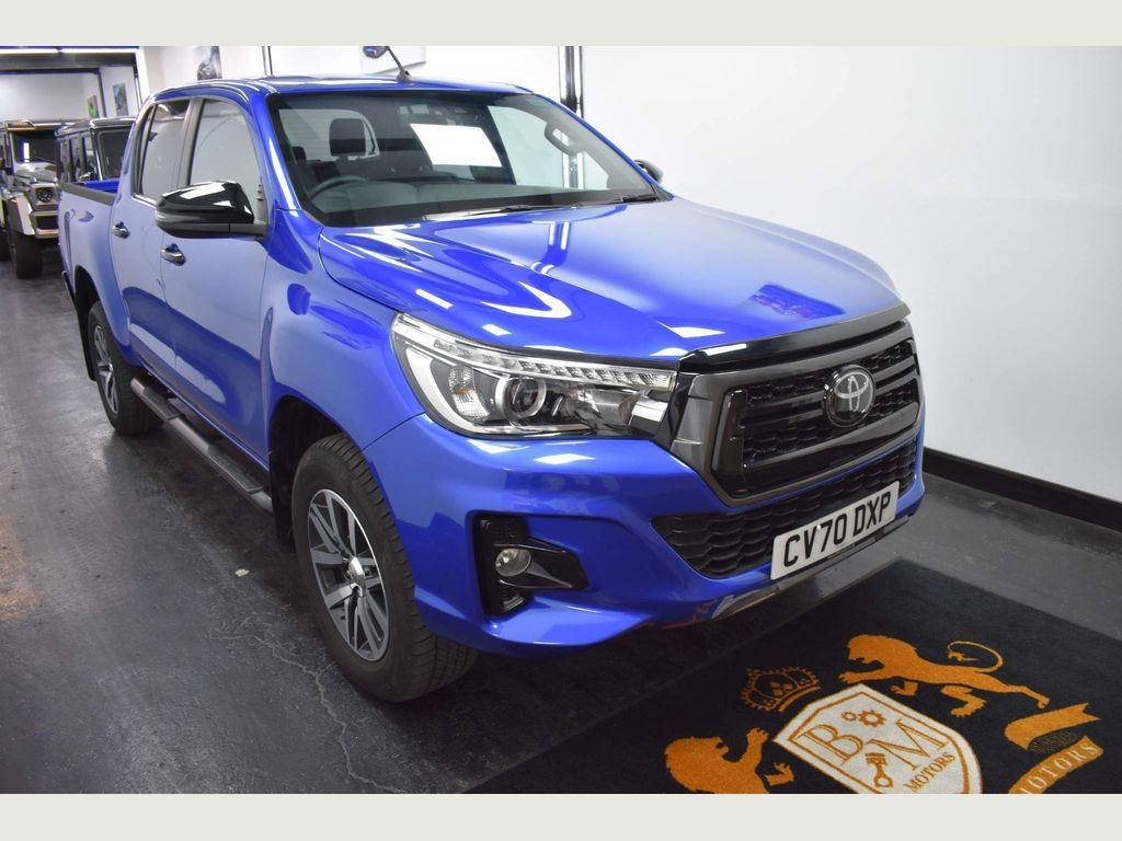 Toyota Hilux Pickup 2.4 D-4D Invincible X Double Cab Pickup Auto 4WD EU6 (s/s) 4dr (TSS)