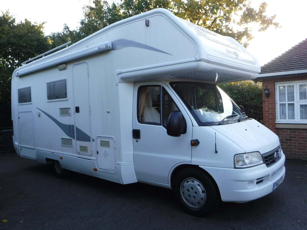 Fiat Elnagh Joxy 6 Belted Seats Motorhome 6 Berth Motorhome with Garage