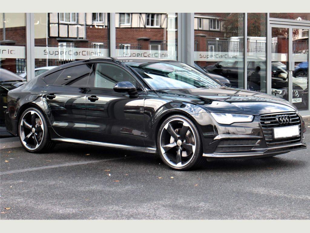Audi A7 Hatchback 3.0 TDI V6 Black Edition Sportback S Tronic quattro (s/s) 5dr