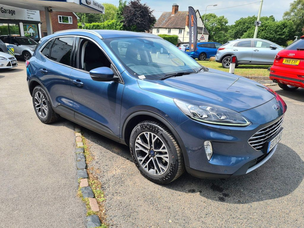 Ford Kuga SUV 1.5 EcoBlue Titanium First Edition (s/s) 5dr
