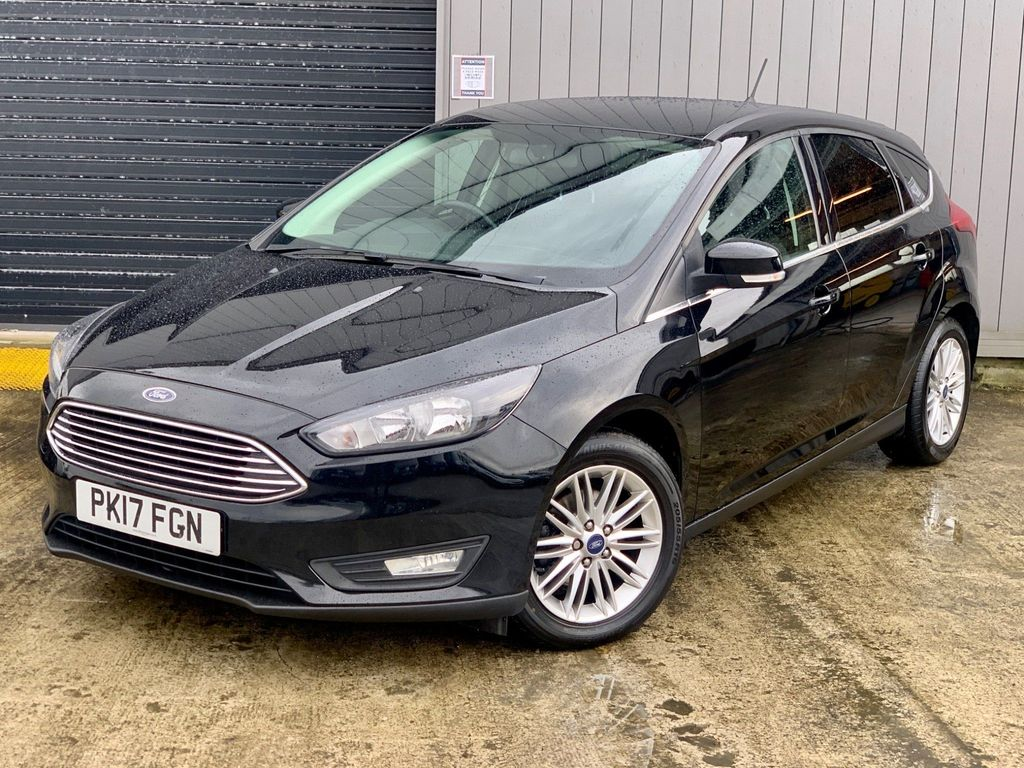 Ford Focus Hatchback 1.5 TDCi Zetec Edition (s/s) 5dr