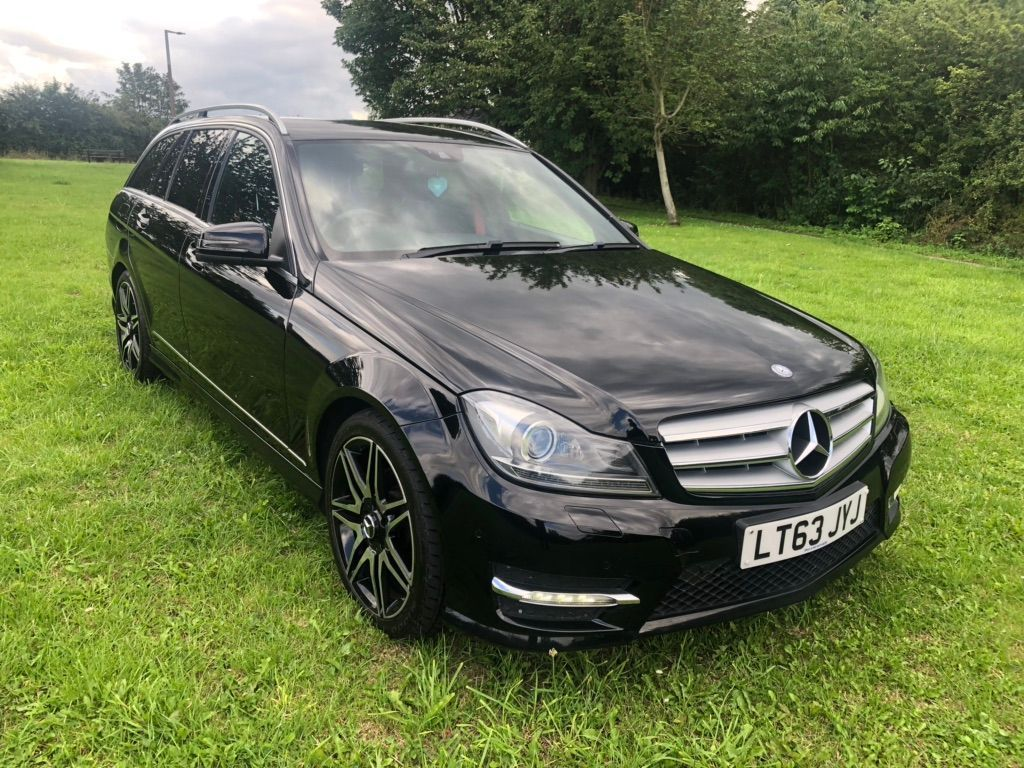 MERCEDES-BENZ C CLASS Estate 2.1 C220 CDI AMG Sport Plus 5dr