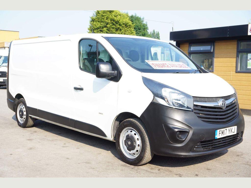 Vauxhall Vivaro Panel Van 1.6 CDTi 2900 ecoFLEX L2 H1 EU6 (s/s) 5dr