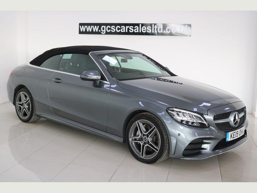 Mercedes-Benz C Class Convertible 2.0 C220d AMG Line Cabriolet G-Tronic+ (s/s) 2dr