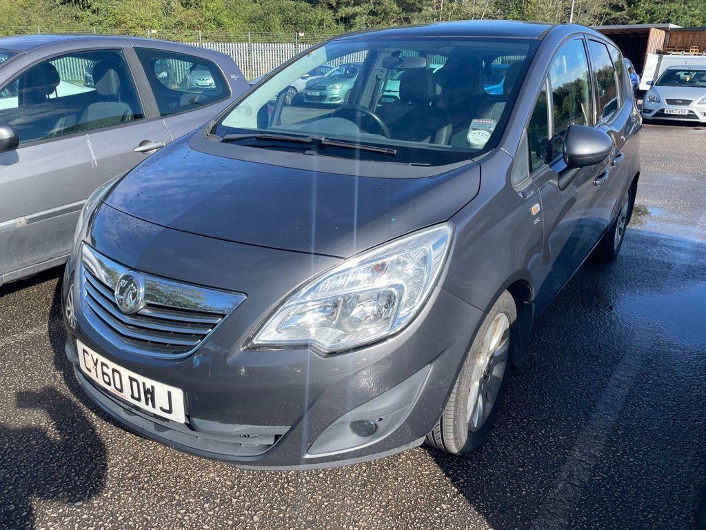 Vauxhall Meriva MPV 1.4T 16V SE 5dr (a/c)