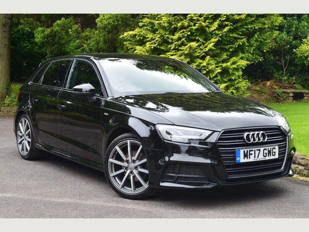 Audi A3 Hatchback 1.4 TFSI CoD Black Edition Sportback (s/s) 5dr