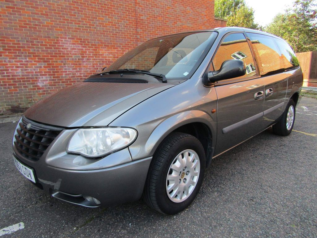 Chrysler Grand Voyager MPV 2.8 SE CRD 7 SEATER AUTOMATIC 5 DR