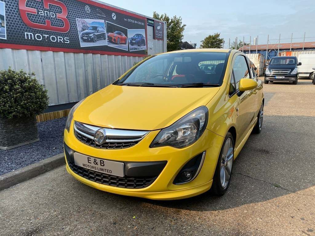Vauxhall Corsa Hatchback 1.7 CDTi ecoFLEX 16v SRi 3dr (a/c)