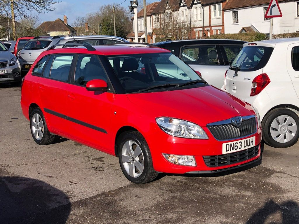 SKODA Fabia Estate 1.6 TDI CR SE 5dr