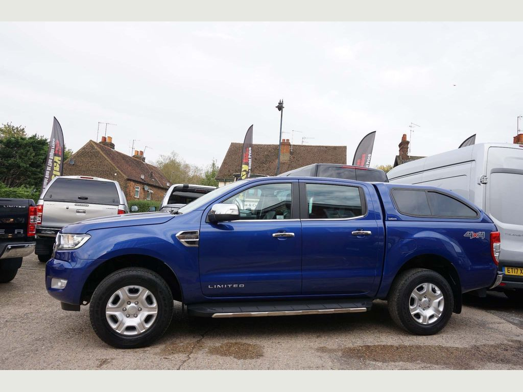 Ford Ranger Pickup 2.2 TDCi Limited 1 Double Cab Pickup 4WD 4dr