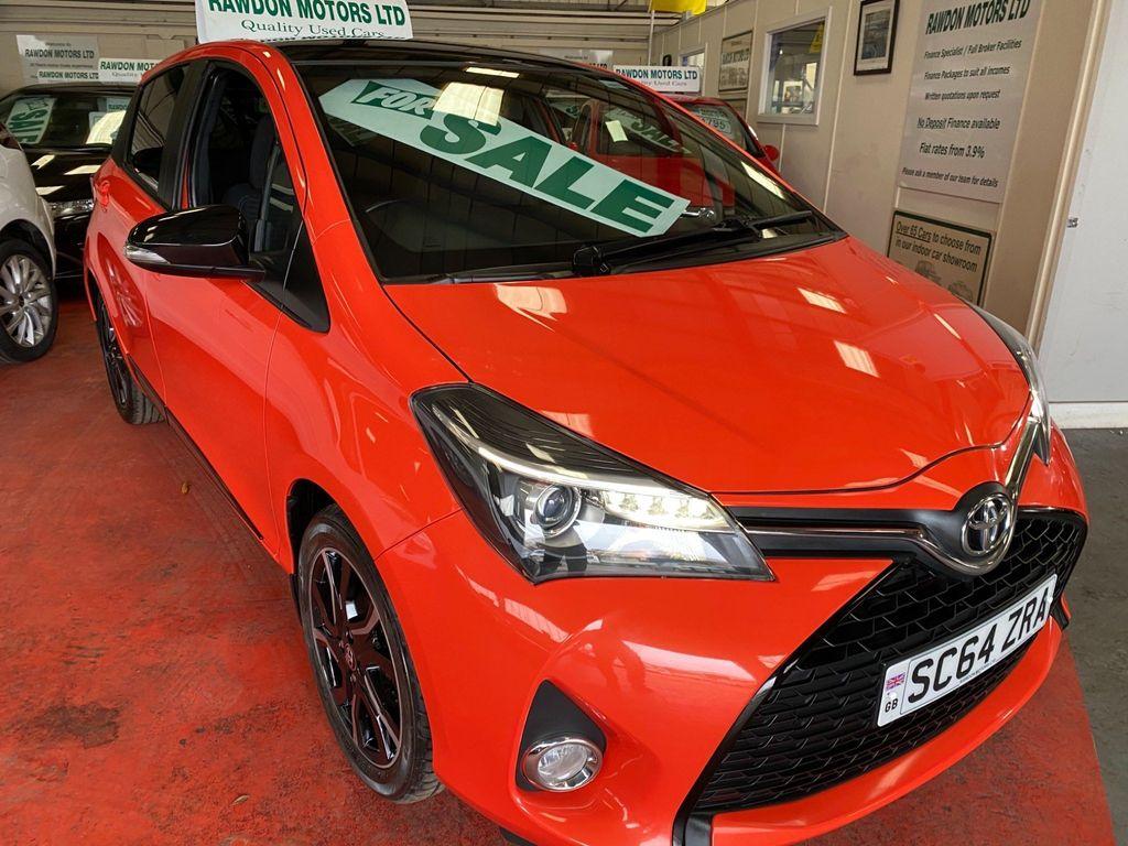 Toyota Yaris Hatchback 1.33 Dual VVT-i Orange Edition 5dr