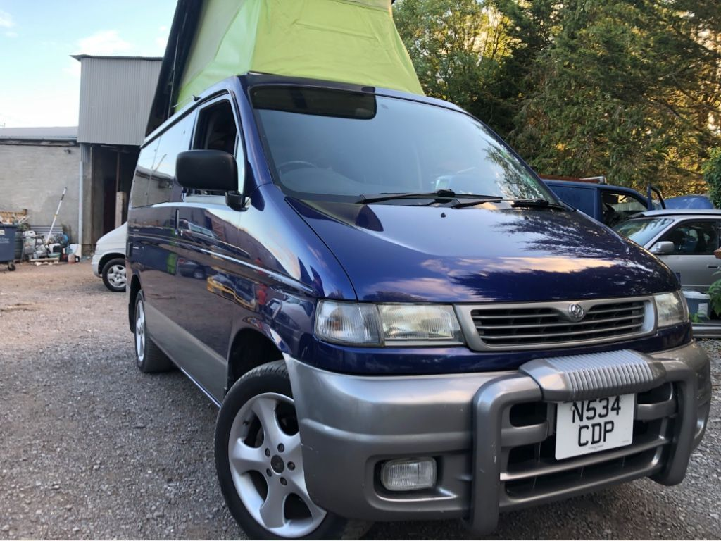 Mazda BONGO AFT 4 BERTH QUALITY SIDE CAMPER CONVERSION Motorhome 6 SEATER 69k 2.5 TD Automatic