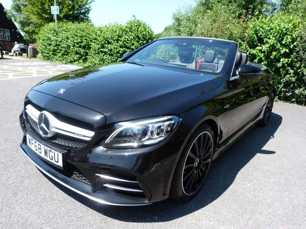 Mercedes-Benz C Class Convertible 3.0 C43 V6 AMG (Premium) Cabriolet G-Tronic+ 4MATIC (s/s) 2dr