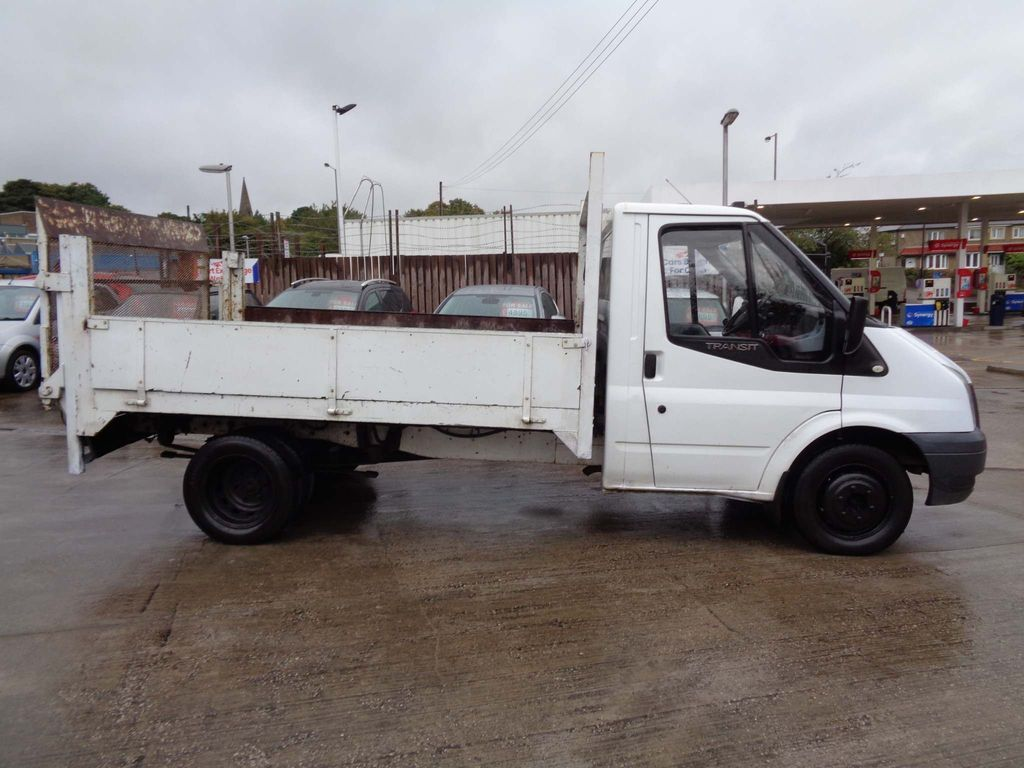 Ford Transit Dropside 2.4 TDCi 350 Duratorq Chassis Cab M 2dr (DRW, MWB)