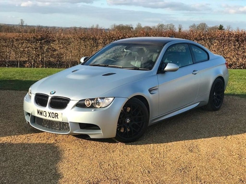 BMW M3 Coupe 4.0 V8 Frozen Silver DCT 2dr