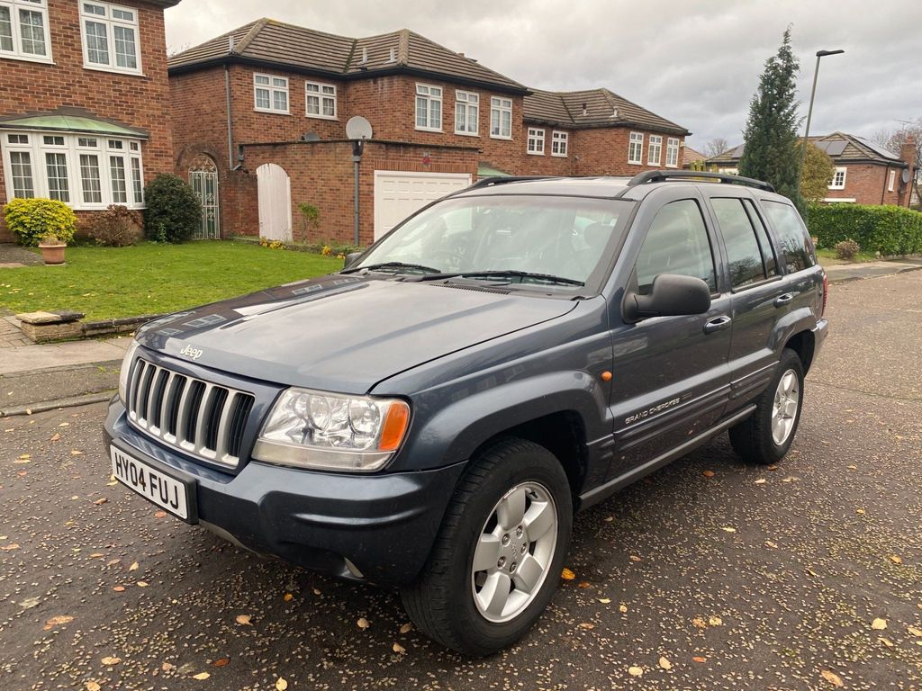 Jeep Grand Cherokee SUV 4.0 Limited 4x4 5dr
