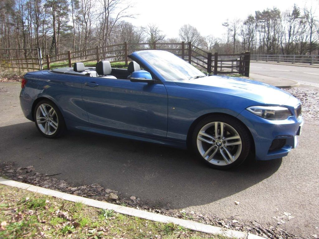 BMW 2 Series Convertible 1.5 218i M Sport (s/s) 2dr