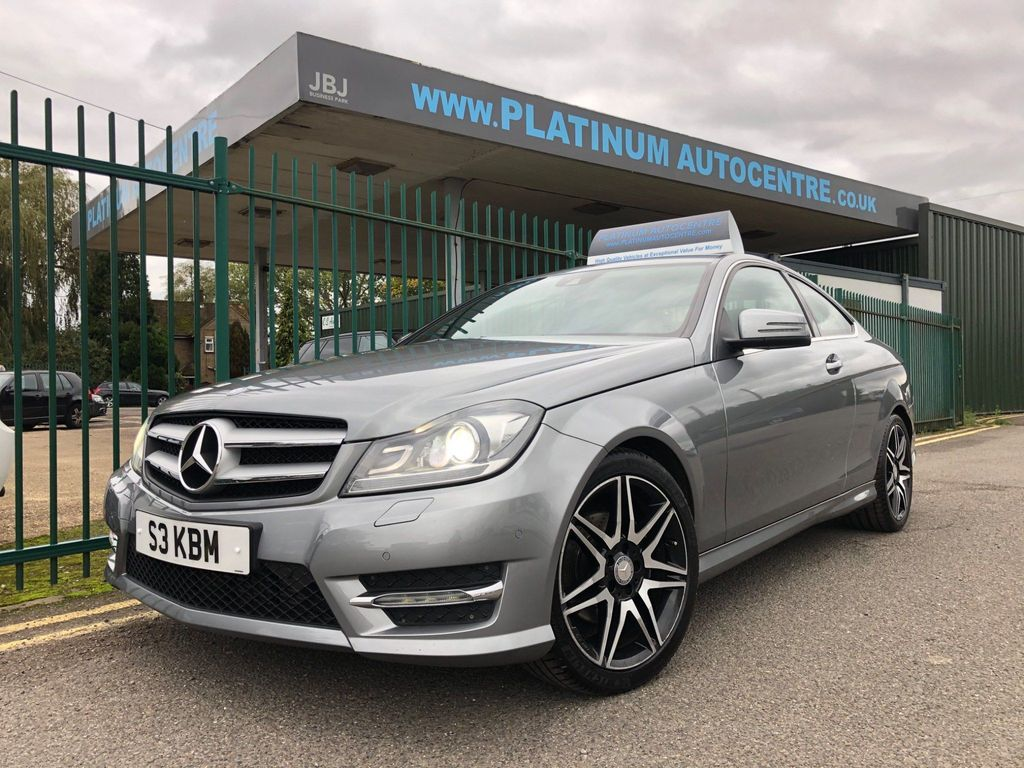 Mercedes-Benz C Class Coupe 1.6 C180 BlueEFFICIENCY AMG Sport Plus 2dr
