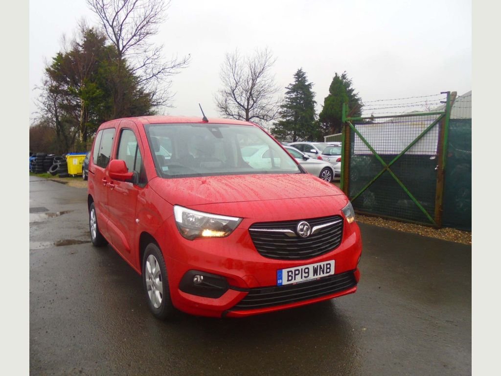 Vauxhall Combo Life MPV 1.2 Turbo Energy (s/s) 5dr