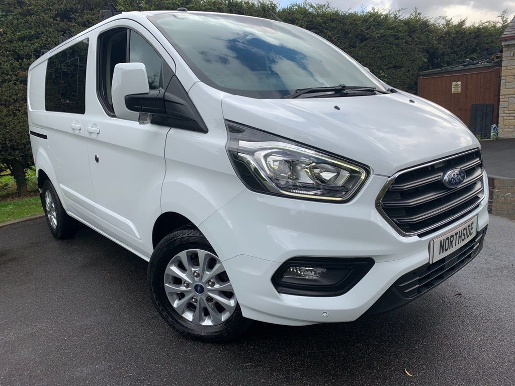 Ford Transit Custom Other 2.0 300 EcoBlue Limited DCIV L1 H1 EU6 5dr (6 Seat)