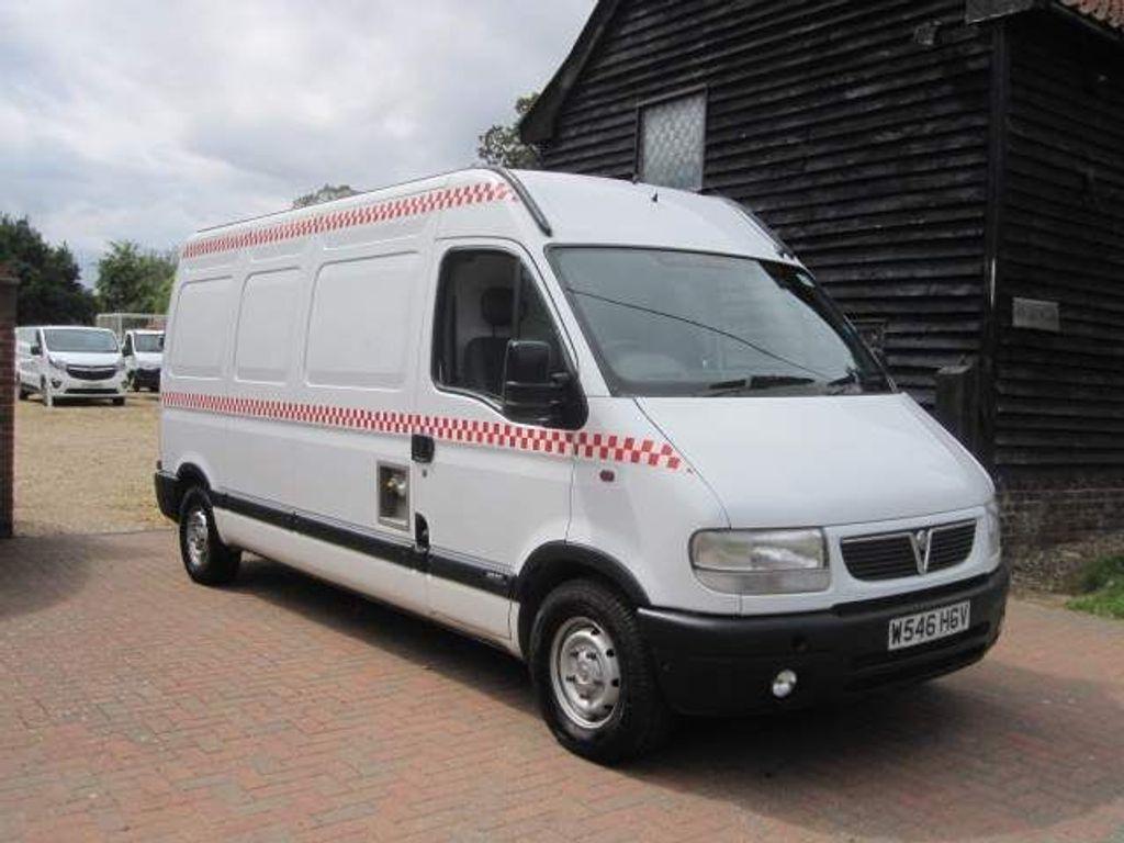 Vauxhall Movano Panel Van 2.8 TD 3500 Panel Van 4dr (LWB)
