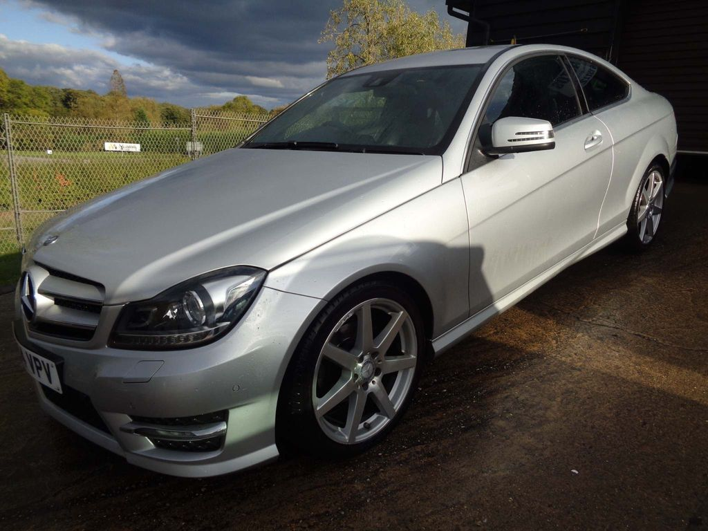 Mercedes-Benz C Class Coupe 1.6 C180 AMG Sport Edition 7G-Tronic Plus 2dr